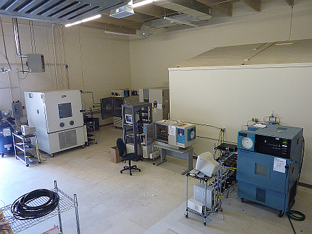 Percept offers a 6,000 sq ft lab with five different environmental chambers available.